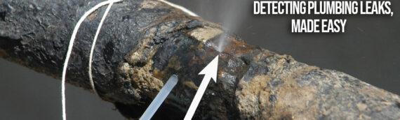 Detecting Plumbing Leaks, Made Easy in Denver CO