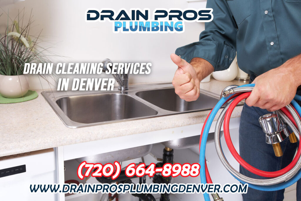 Drain Cleaning and Sewer Camera Inspection in Denver Colorado