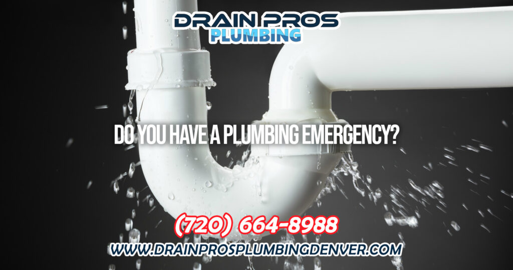What to do in a Plumbing Emergency in Denver Colorado