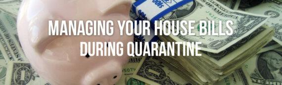 Managing Your House Bills During Coronavirus Denver Co