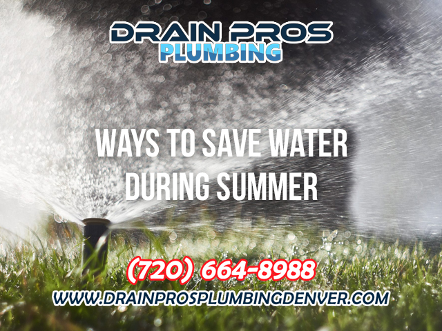 Saving Water in the Summer in Denver Colorado