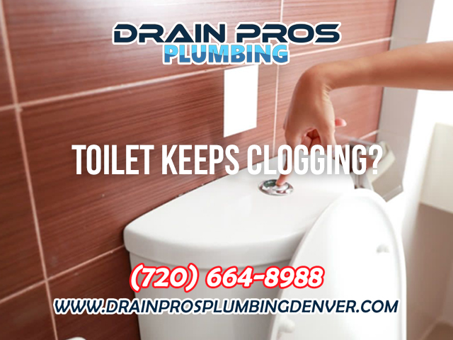 Prevent Toilet from Clogging in Denver Colorado