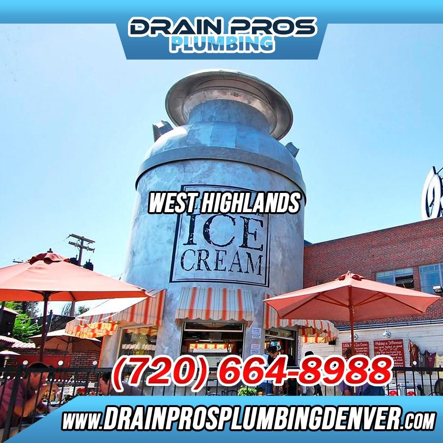 Plumber West Highlands Denver